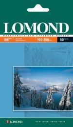 Односторонняя матовая фотобумага Lomond для струйной печати, A6, 180 г/м2, 50 листов, код 0102063