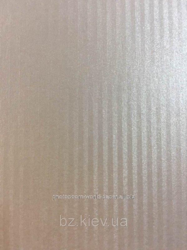 Дизайнерский картон Astrosilver Cannete с тиснением полоска, перламутровый серебро, 220 гр/м2, код 16549