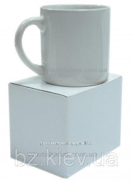 Кружка белая десертная 6 oz, код GRW04.08.058/LCH