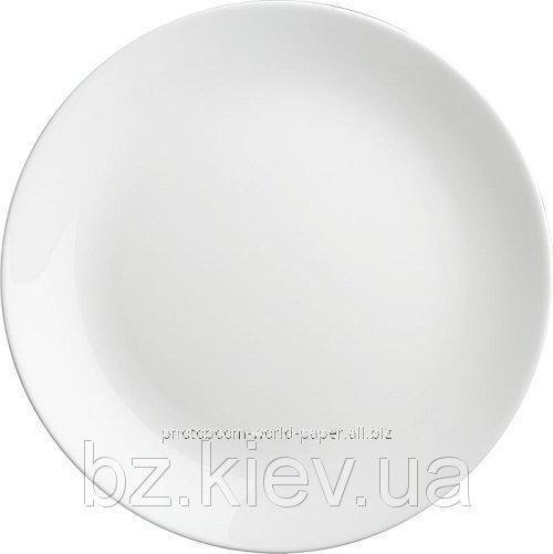 Керамическая тарелка для сублимации с подставкой, код GRW05.01.005/PSA