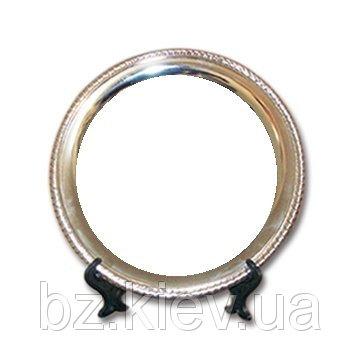 Металлическая тарелка с фигурным тиснением для сублимации, код GRW05.05.001/LCH