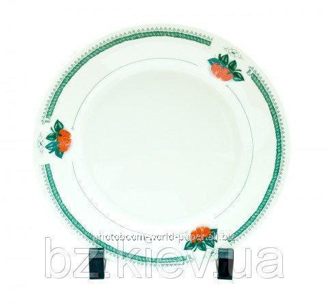Тарелка с орнаментом Клубника для сублимации, код GRW05.05.016/LCH