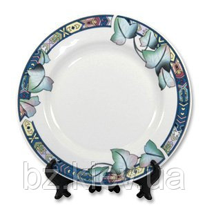 Тарелка с орнаментом Лотос для сублимации, код GRW05.05.007/LCH