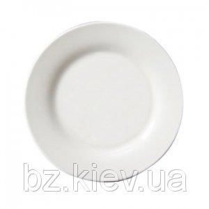 Тарелка полимерная белая для сублимационной печати, код GRW04.08.003/LCH
