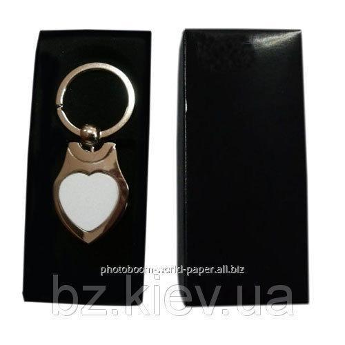 Брелок в форме Сердце для сублимации, код GRW03.01.047/LCH
