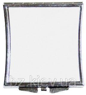 Зеркальце в форме Квадрат из изогнутыми краями для сублимации, код GRW03.01.041/LCH