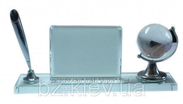 Фотокристалл Настольный набор Глобус, код GRW17.01.002/LCH