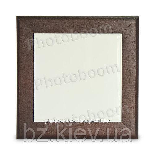 Деревянная рамка для сублимационной плитки, код GRW07.02.019/LCH