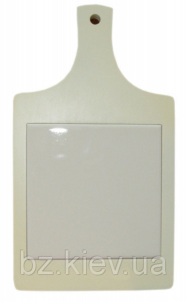 Доска разделочная из дерева с декоративной плиткой, код GRW16.01.027/UA