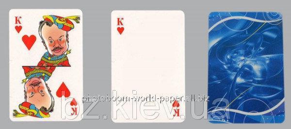 Игральные карты сувенирные под сублимацию, код GRW13.01.007/BZ