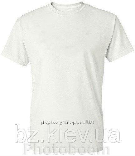 Футболка белая для сублимации, Texgraw, код FTB01.04.002/PLA