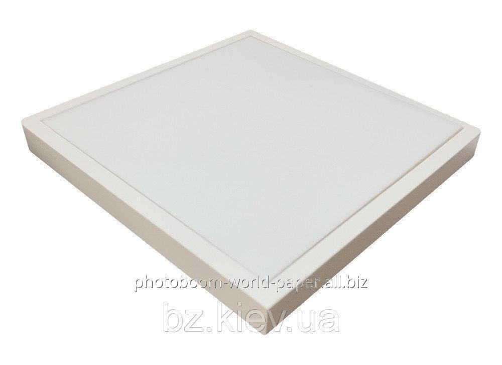 Панно в рамке из светлого натурального дерева с плиткой для сублимации ( 15*15 см), код GRW16.01.041/UA