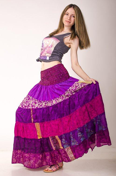 Индийские юбки до пола купить