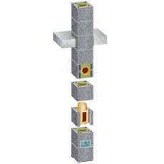 Купить Комплект стандартного одноходового дымохода (основание дымохода) Schiedel UNI D140 3 пм