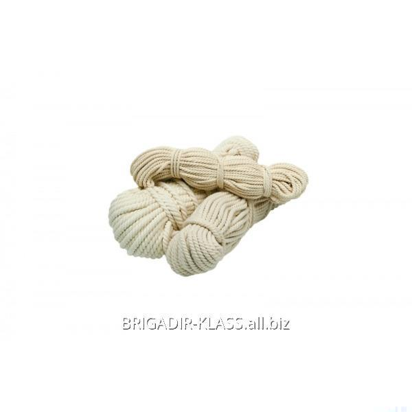 Rope (rope) COTTON twisted (50 m) 18 mm, B-12-09 Model