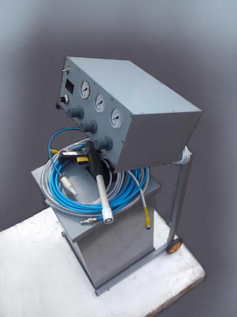 Модуль напыления порошковой краски POLYMERASER.