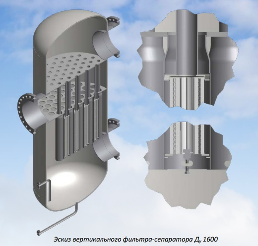 Передвижной механический самоочищающийся фильтр