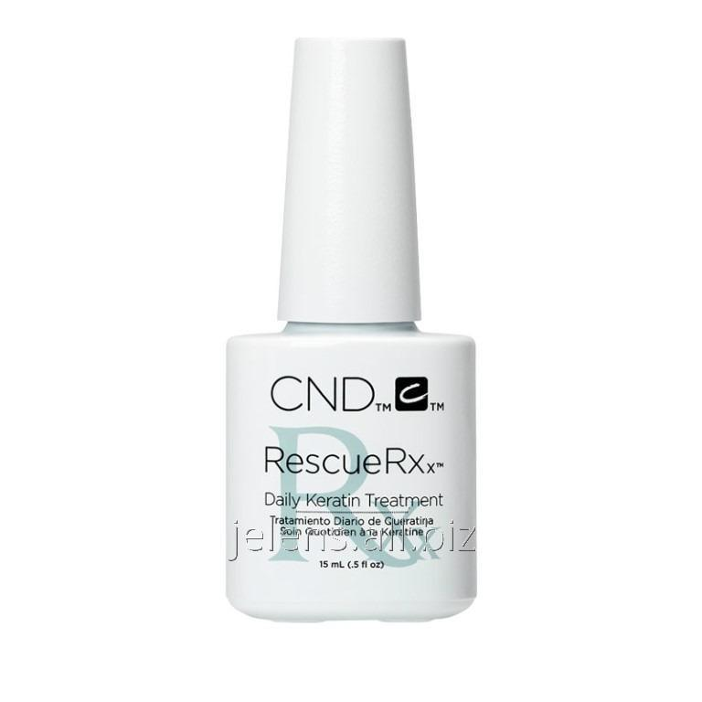 Keratin means for restoration of nails of CND Essentials RescueRXx ...
