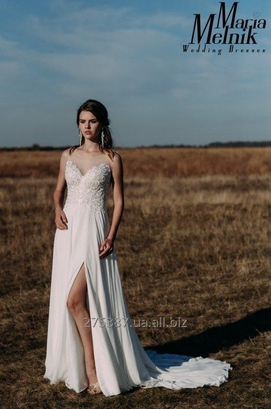 Купить Свадебное платье с разрезом