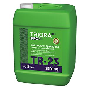 Укрепляющая грунтовка глубокого проникновения TR-23 strong TM TRIORA prof арт.3621