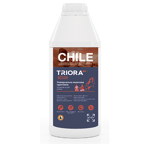 El fondo CHILE TM TRIORA universal acrílico active арт.3511