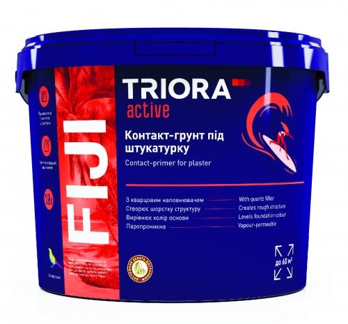 Контакт-грунт под штукатурку FIJI TM TRIORA active 10 л арт.3506