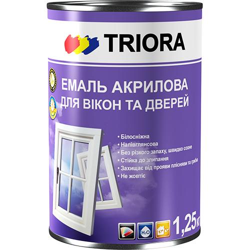 Zománc az ablakok és ajtók TM Triora 400 ml art.3482