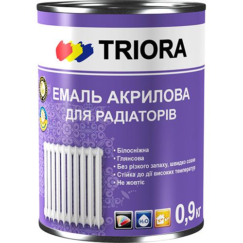 El esmalte acrílico para los radiadores TM TRIORA de 0,9 kg арт.2824