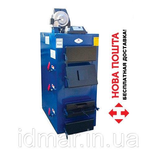 Купить Котел длительного горения Идмар GK-1 (44 кВт) на твердом топливе