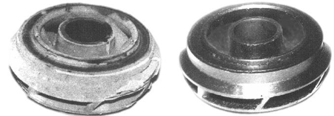 Оборудование для очистки колес и направляющих аппаратов