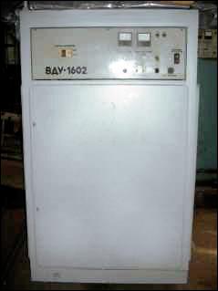 Schweißen Gleichrichter Typ VDU-1602 U2