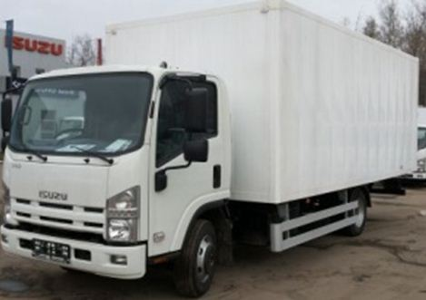 Truck Isuzu NQR 90L manufactured lorries, vans