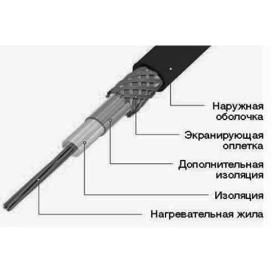 Купить Резистивный кабель TXLP ДО 65 °С