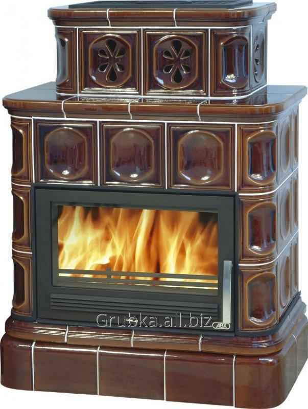 Печь кафельная ABX Karelie (кафельный цоколь)