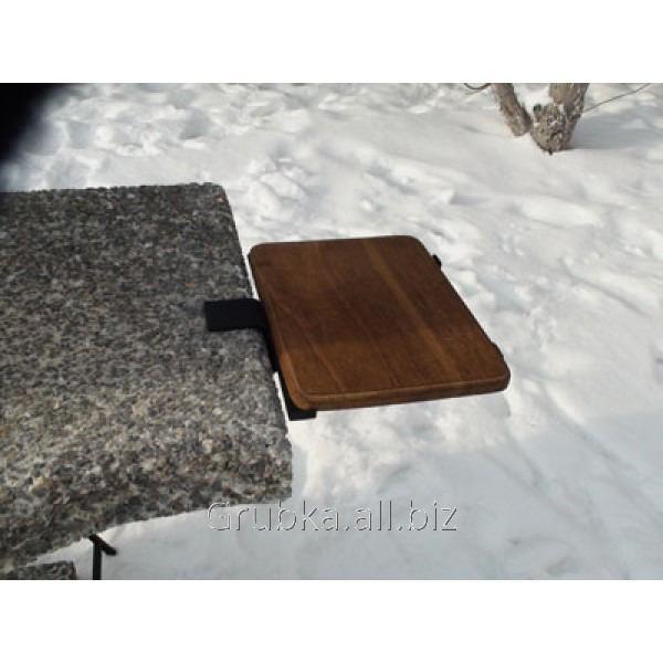 Доска разделочная (дуб) для садового камина - барбекю