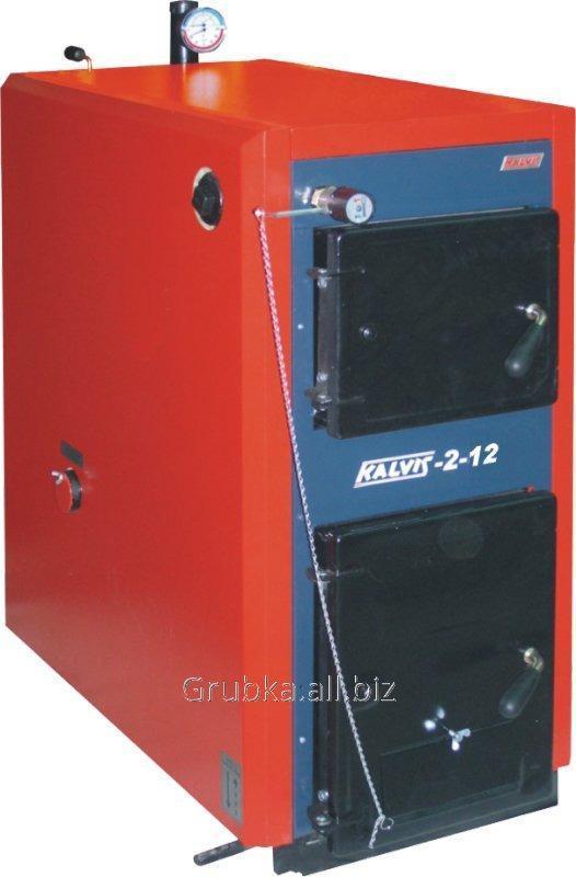 Котёл твердотопливный длительного горения KALVIS K-2-12