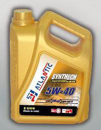 Купить Моторное масло Atlantic Synthech Super 5W40 4л