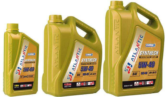 Купить Моторное масло Atlantic Synthech Super 5W40 20л
