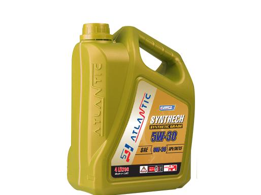 Купить Моторное масло Atlantic Synthech Super 5W-30 4л
