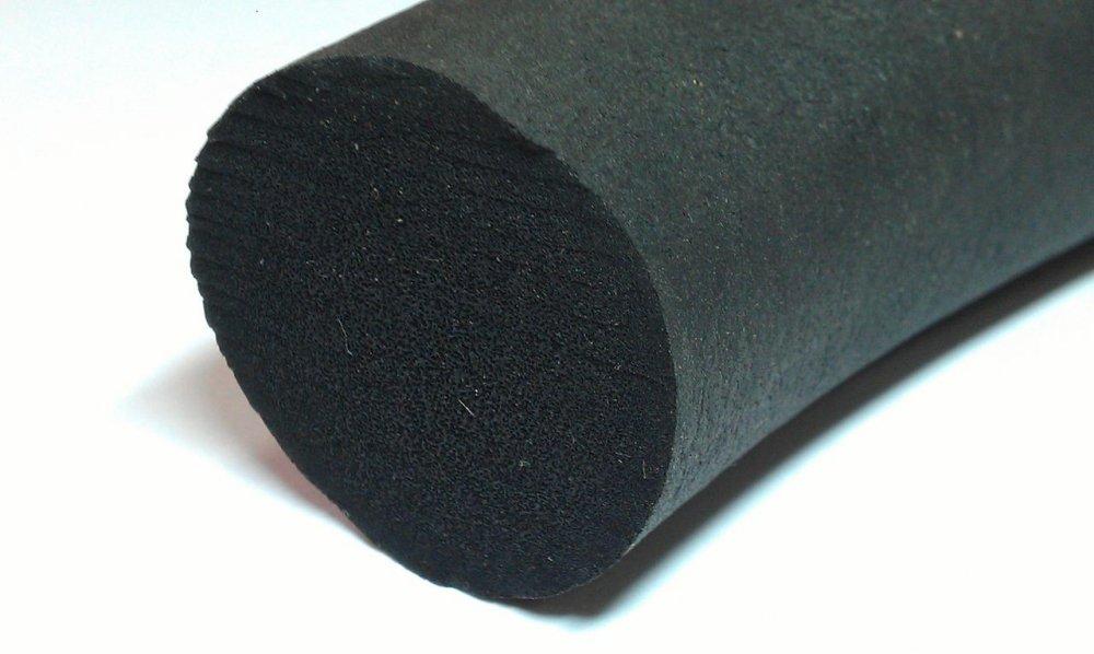Губчатый шнур гернит 8 - 50 мм