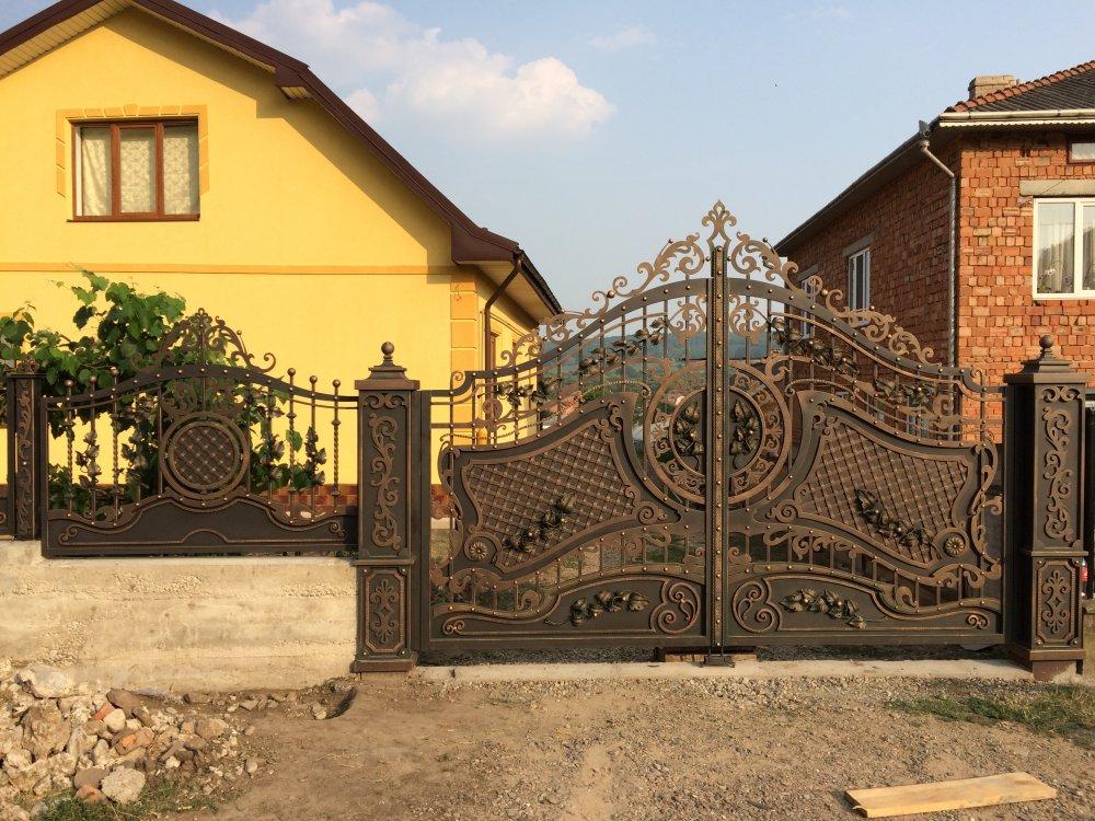 Купить Кованые ворота и забор