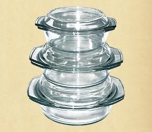 Купить Набор термостойкой посуды 1.0л+1.5л+2.0л 6в1 Dekok GW-711EF