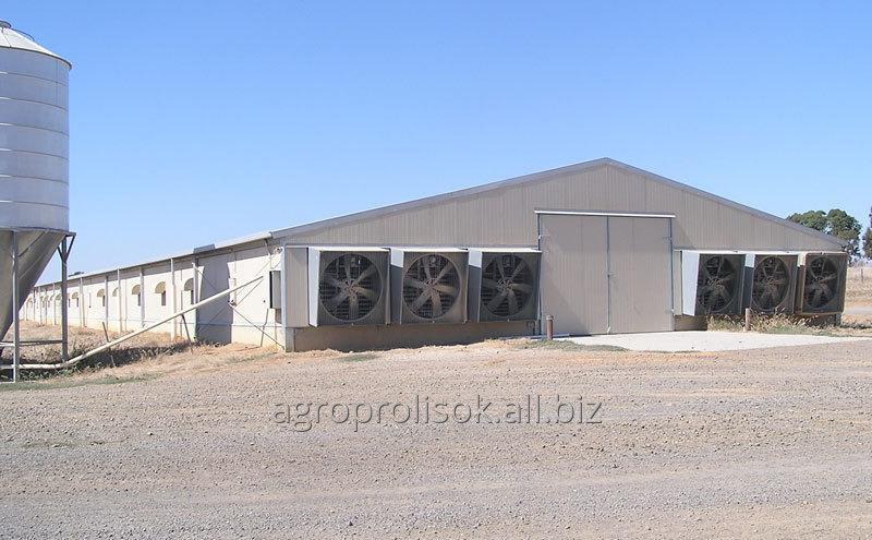 Оборудование вентиляционное для птицефабрик