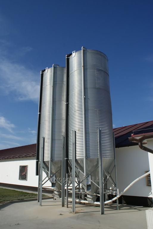 Купить Системы хранения корма для птицеферм