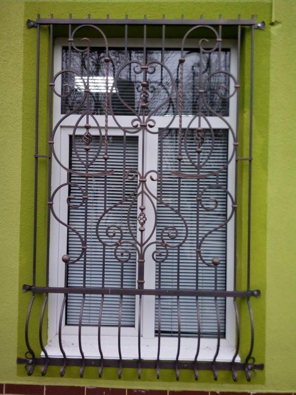 Купить Кованые решетки окна