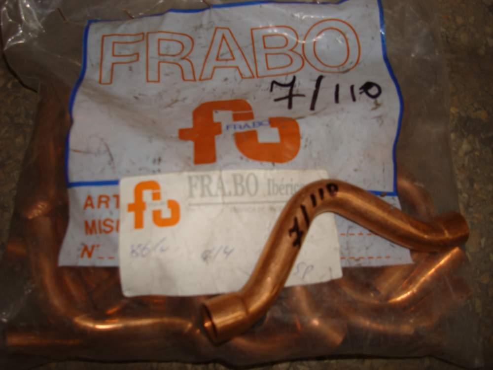 Обвод с 2-мя муфтами Frabo медь
