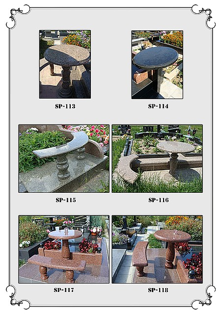 Buy Little tables and shops from granite 5