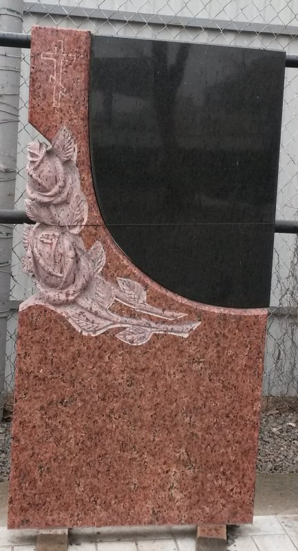 Купить Памятник Гранит Лезники, размер детали 120/60/8