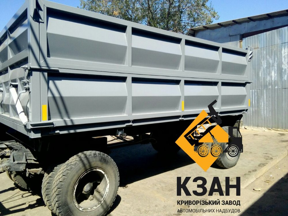 Buy The GKB trailer converted in the dump truck.