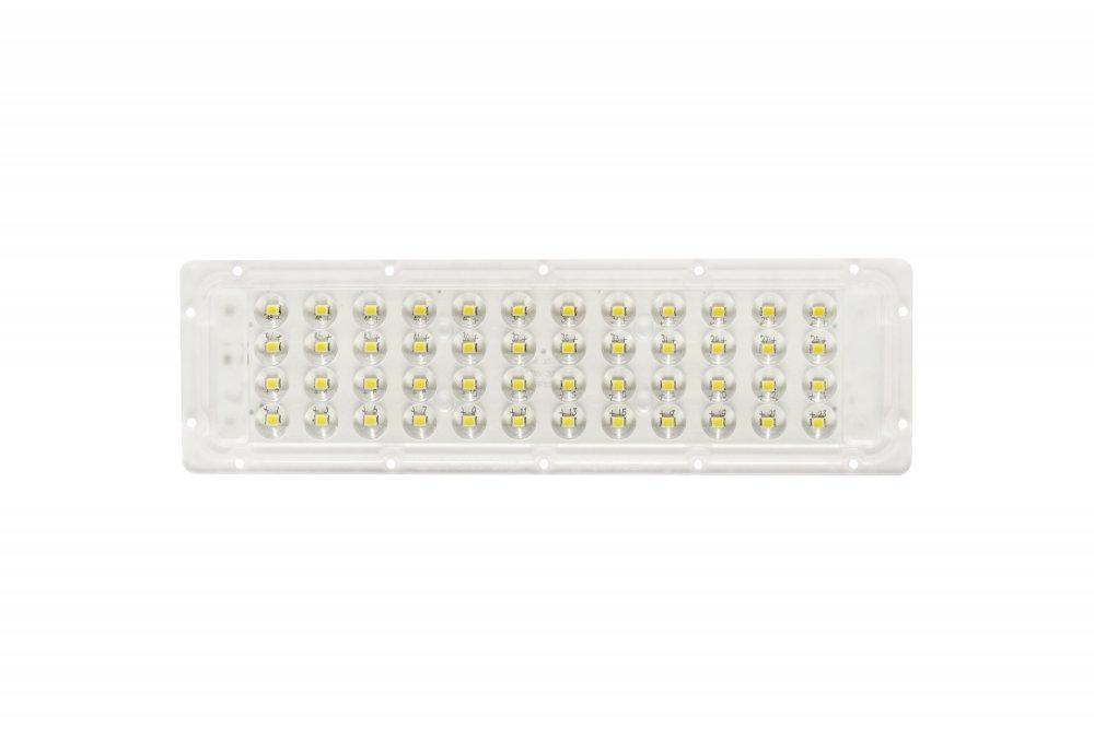 Светодиодный модуль 50 Вт, 48 LED, оптика 90х90